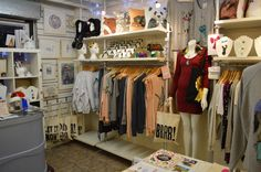 LA LA LAND boutique interior.  www.livinginlalaland.co.uk