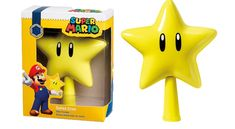 This 'Super Mario' Star Topper Completes Your Christmas Tree Cool Christmas Trees, Christmas Door Decorations, Xmas Wreaths, Christmas Tree Toppers, Xmas Tree, Christmas Tree Ornaments, Super Mario, Mario Star, Cumpleaños Diy
