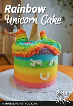 Looking for a subtle citrus orange cake recipe? Check out this versatile recipe used as the base for our 3-year-old's rainbow unicorn cake. Healthy Dessert Recipes, Easy Desserts, Delicious Desserts, Cake Recipes, Cake Tasting, Rainbow Unicorn, Recipe Using, Yummy Drinks, Cooking Time