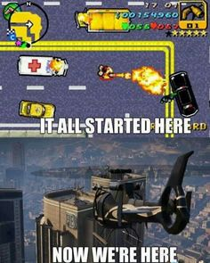 Evolution of GTA