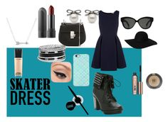 """""""Skater dress"""" by hoodiesforlife ❤ liked on Polyvore"""