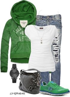 """Casual"" by stephiebees on Polyvore"