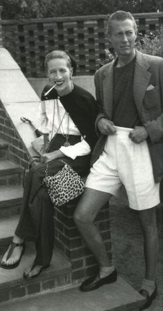 Reed & Diana Vreeland. I've always thought of this as the summation of American chic.