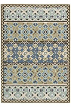 Rug from Veranda collection. Coordinate indoor and outdoor spaces with pretty and practical area rugs from the Veranda collection in designs from mod florals to traditional classics. Coastal Area Rugs, Blue Area Rugs, Porches, Red Chocolate, Transitional Area Rugs, Indoor Outdoor Area Rugs, Outdoor Spaces, Outdoor Living, Outdoor Mats