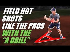 The A Drill - Baseball Infield Drill by Former Pro Nick Shaw Baseball Card Shop, Baseball Card Boxes, Baseball Card Values, Baseball Boys, Basketball Cards, Baseball Players, Hockey, Football, Baseball Hitting Drills