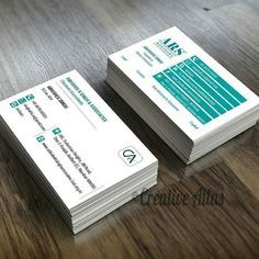 #minimal #businesscarddesign for our clients - (ARS Advisors  and Abhishek R Singh)  a team of Chartered accountants based in Mumbai. To hire our graphic design services email us at <info@creativeatlas.in>