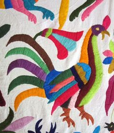 Judy's Journal: Otomi embroideries