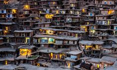 Sar Agh Syed village in Iran