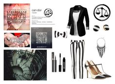 """""""Candor~ Divergent"""" by passarinha ❤ liked on Polyvore featuring BC, J.TOMSON, 7 For All Mankind, Salvatore Ferragamo, Lancôme, Lord & Berry, Tildon, Kate Spade, The Sak and divergent"""