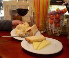 Ensaladilla Russa and,manchego cheese, La Tasquita