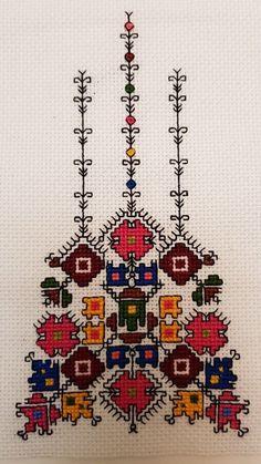 Folk Embroidery Patterns Handmade by shevitsa. Hungarian Embroidery, Folk Embroidery, Learn Embroidery, Palestinian Embroidery, Cross Stitch Embroidery, Embroidery Patterns, Machine Embroidery, Cross Stitch Designs, Cross Stitch Patterns