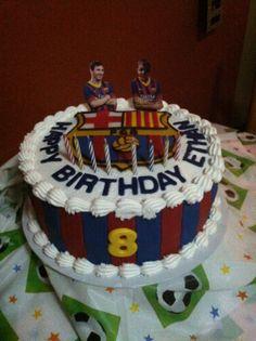 FC Barcelona birthday cake.