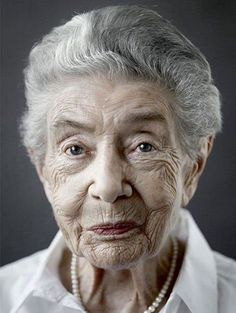 For his project titled Jahrhundertmensch, German photographer Karsten Thormaehlen shot portraits of people who have reached the ripe old age of 100.