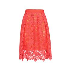 Meadow Lace Skirt, in Pink on Whistles