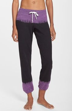 Monrow 'Vintage' Tie Dye Sweatpants available at #Nordstrom