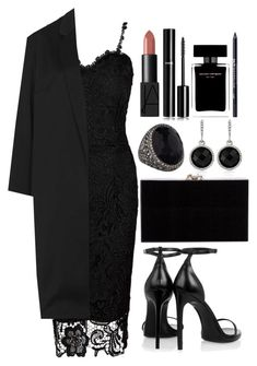 """""""Untitled #3714"""" by natalyasidunova ❤ liked on Polyvore featuring Topshop, Yves Saint Laurent, Sevan Biçakçi, Charlotte Olympia, NARS Cosmetics, White House Black Market, Chanel, Narciso Rodriguez and Urban Decay"""