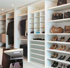 Closet e armários com porta de correr
