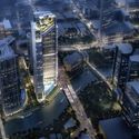 Rafael Viñoly Adds to Miami's Luxury Residential Boom with New Tower Design Side View. Image Courtesy of KAR Properties