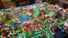My Lego Friends Heartlake City set up