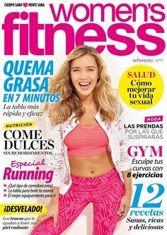 Revista #WOMENSFITNESS 16.  Especial #running. #Gym, esculpe tus curvas. Quema grasa, la tabla más rápida y eficaz.
