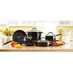 Bought! Better Homes and Gardens 10-Piece Porcelain Aluminum Cookware Set