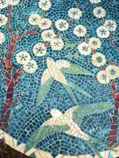 Les mosaïques art déco d'Anne Bedel