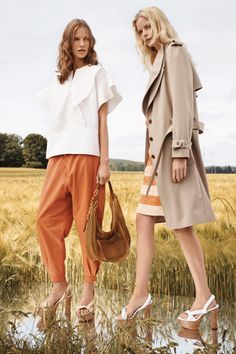 Trousers and tee <3 Chloé Resort 2013