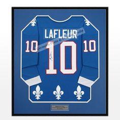 Guy Lafleur Jersey Framing http://germotte.ca/jersey-framing.html   #GuyLafleur #jerseyframing #sportsJersey