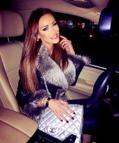 Fur Collar Coat. Chanel.