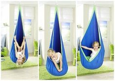 Child Hanging Swing Seat Chair Crows Nest Hammock Swing Nook Tent