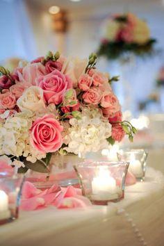 71 best pink centerpieces images on pinterest flower arrangements pink centerpiece pink wedding centerpieces spray roses wedding color palettes flower decorations mightylinksfo