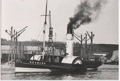 The tug Seaburn, on the river between 1919 and Between 1919 and 1932 she was named Iron. Steam Boats, Sunderland, Paddle, Birmingham, Sailing Ships, Past, Iron, France, River