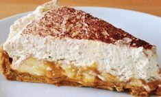 Recipe The best Banoffee Pie! by zarast, learn to make this recipe easily in your kitchen machine and discover other Thermomix recipes in Baking - sweet. Greek Recipes, Pie Recipes, Cookie Recipes, Moka, Biscuits, Christophe Felder, Greek Sweets, Banoffee Pie, Icebox Cake