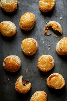 French Onion Pastry Puff Bites