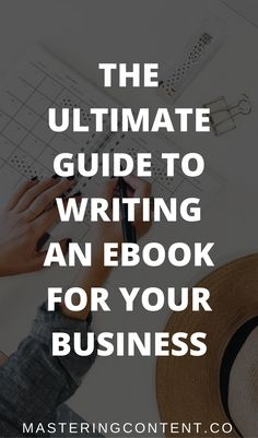 Make 2018 the year you finally write a book for your business! This post takes you through everything you need to write a book that grows your business and establishes you as an expert! #ebooks