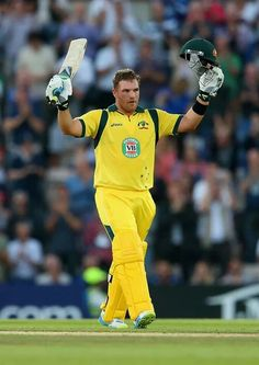 Aaron Finch made a century from just 47 balls and finished on a world-record 156 in Australia's T20 victory against England