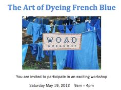 Learn to dye fabric FRENCH BLUE in Yonkers! https://www.frenchgeneral.com/index.php