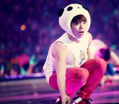 SHINee Jonghyun I want to take him home cause he's so adorable in this hat:)
