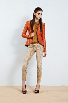 This is the season of the statement jacket - try this Elizabeth and James for size
