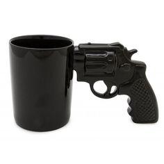 Mug pistola Revolver Unique Gifts For Men, Quirky Gifts, Cool Gifts, Best Gifts, Revolver, Coffee Cups, Tea Cups, Online Gifts, Color Negra