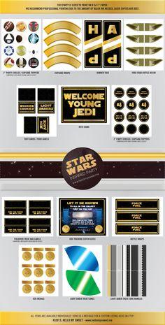 Star Wars assortiment personnalisé pour fête par HelloMySweet