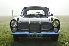 #Facel_Vega #Facellia au Rallye d'Aumale. Reportage complet : http://newsdanciennes.com/2016/04/12/rallye-daumale-autos-margo-polo/ #ClassicCar #Vintage #Car #Voiture #Ancienne