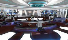 Star Trek Terminal Expanse Takes Players To Kelvin Timeline Star Trek Bridge, Star Trek Online, New Star Trek, Star Trek Ships, Star Trek Enterprise, Spock, The Expanse, Stars, Spaceships
