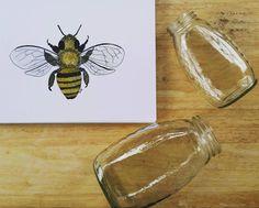 Honeybee Watercolor My head has been buzzzzzzing with ideas! . . . #bee #honey #honeybee #watercolor #fabercastell #art #artsy #sketch #sketchoftheday #creative #drawing #watercolorforsale #illustration #chic #beachdecor #onlineart #onlineartgallery #painting #craftsposure #makersvillage #thehivehandmade #themakershaus #thhmd #makersbiz #savethebees #homedecor #artist #artwork #artinfo #boho