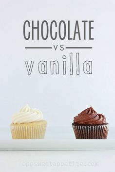 Best chocolate and vanilla cupcake recipes