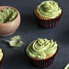 Matcha Green Tea Cupcakes | The Sweeter Life Club