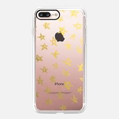 Stars - Gold - iPhone 7 and iPhone 7 Plus Classic Grip Case