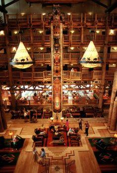 Top 5 Walt Disney World Resort Lobbies