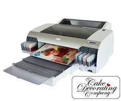 A2 Professional Edible Imaging Printer With 8 Refill Inks - Edible Imaging Supplies Edible Ink Printers - The Cake Decorating Company - UK