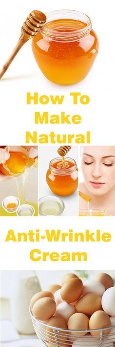 How To Make Natural Anti-Wrinkle Cream